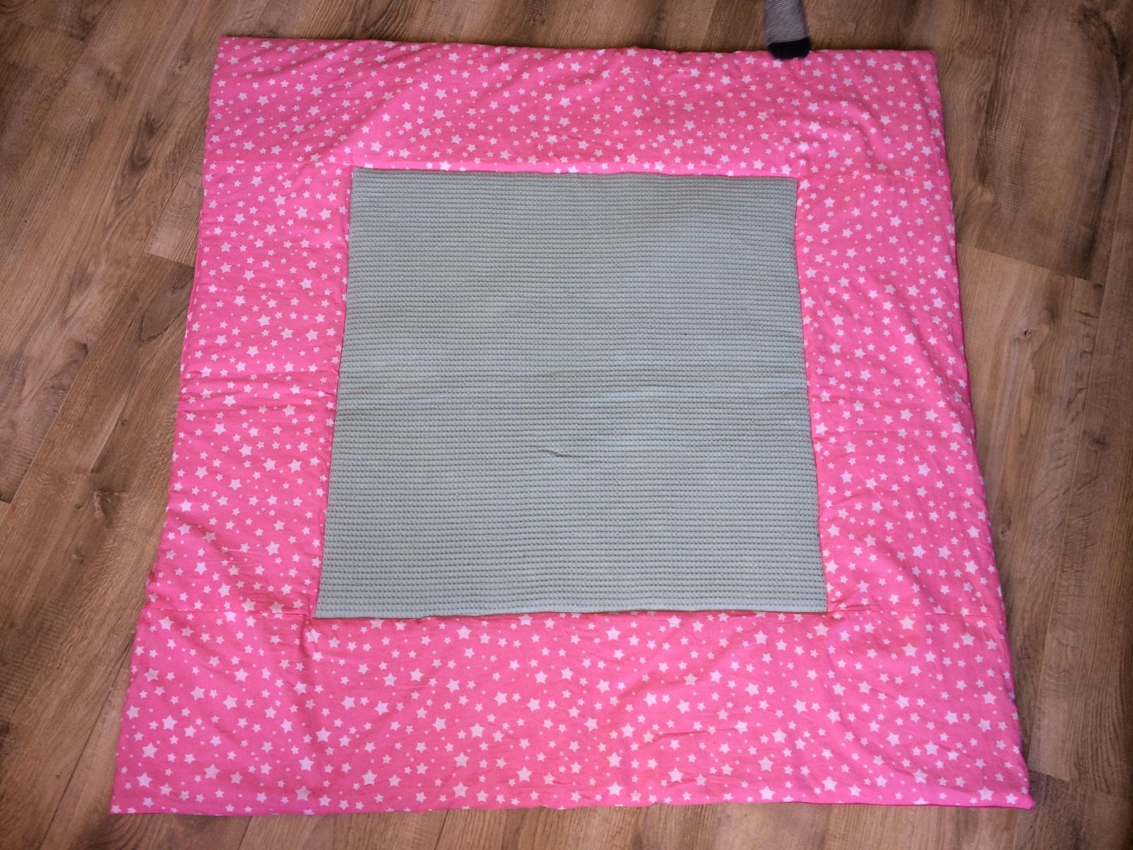 XXL-speelkleed Olijfgroen met Roze