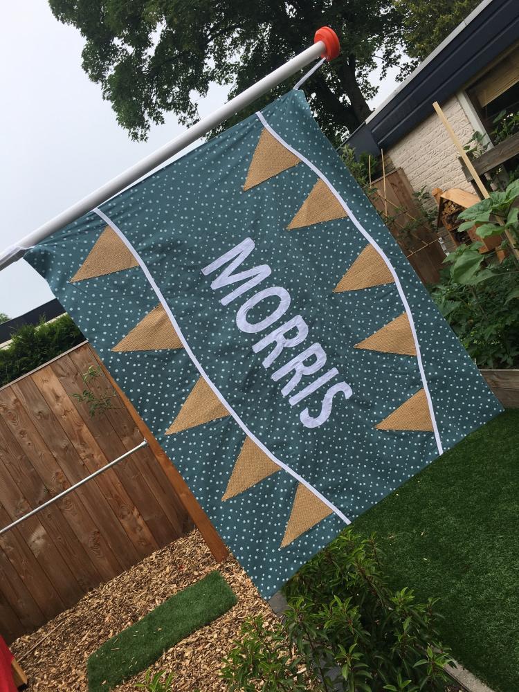 Geboortevlag Morris