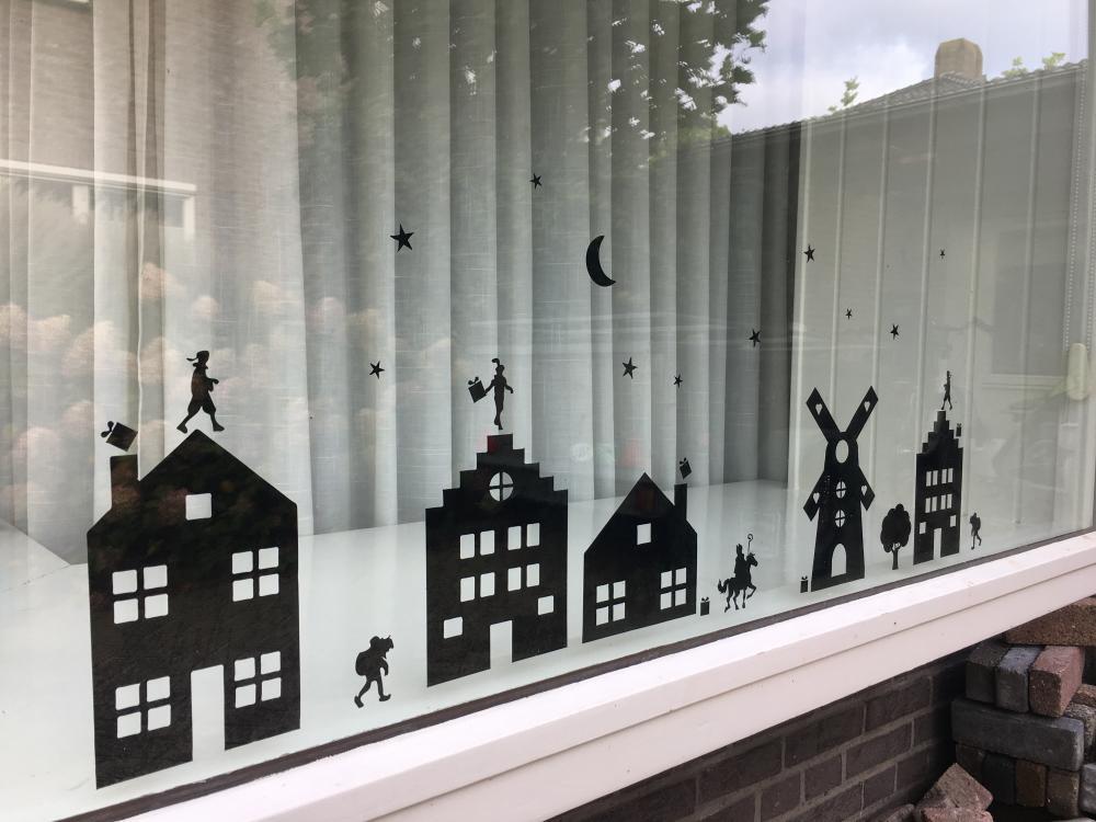 Raamhuisjes Sinterklaas Statisch
