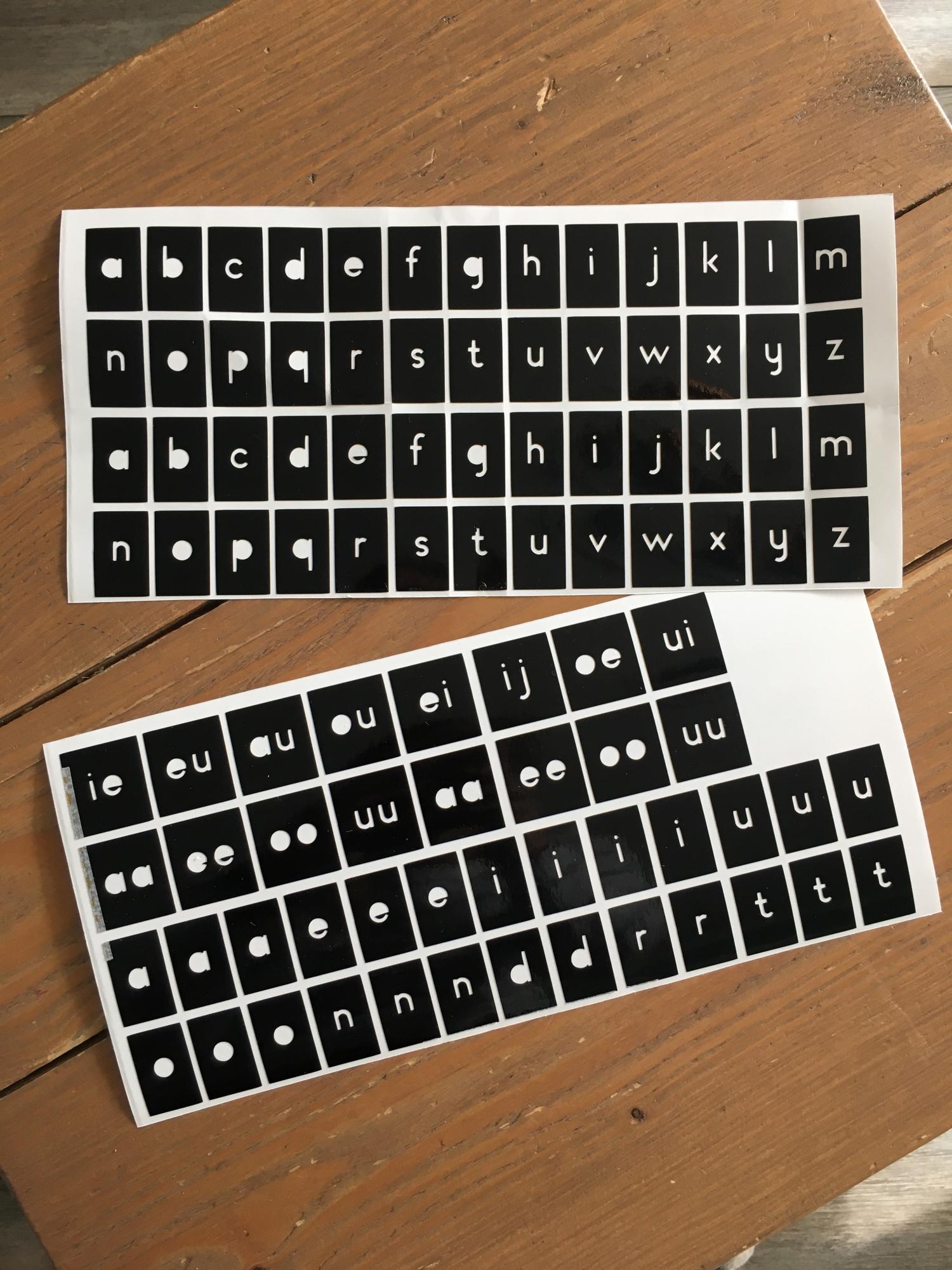 Raam Alfabet