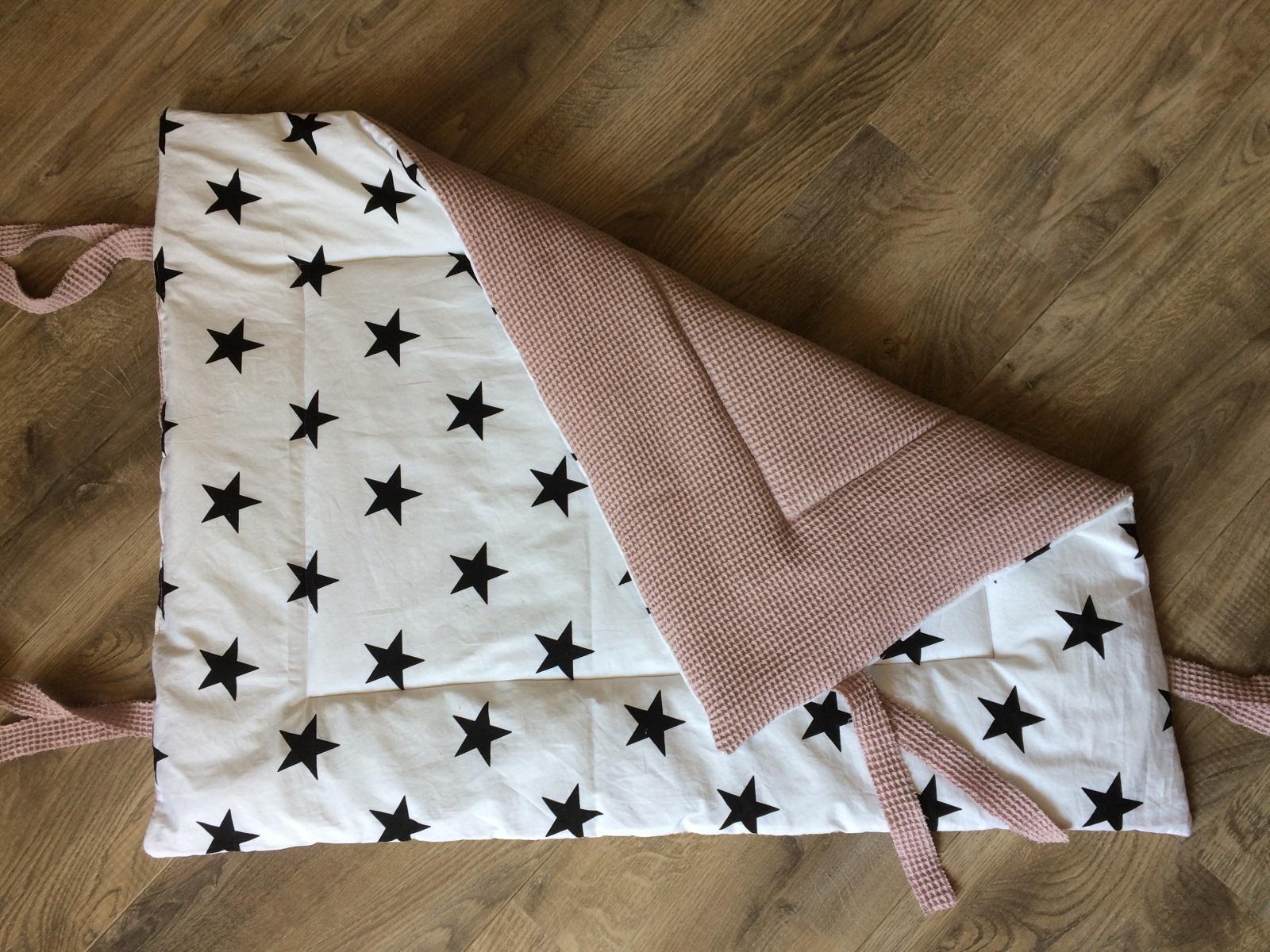 Boxkleed Oudrozewafel & grote sterren