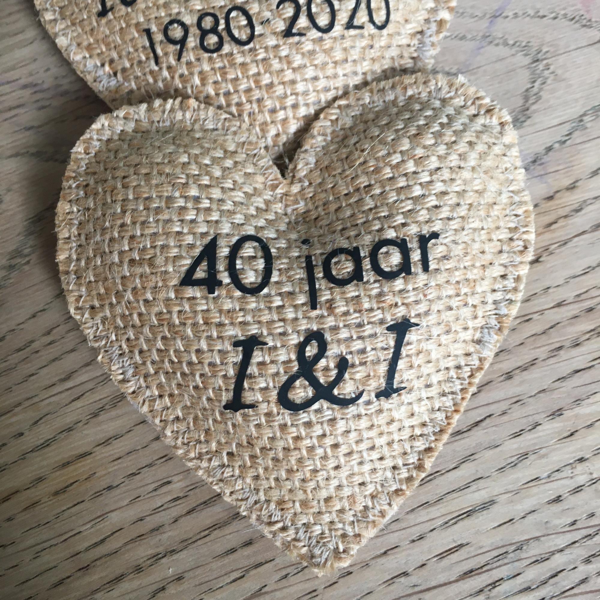 Corsages 40 jaar